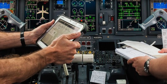 Converge Electronic Techlog being used by BACF pilots